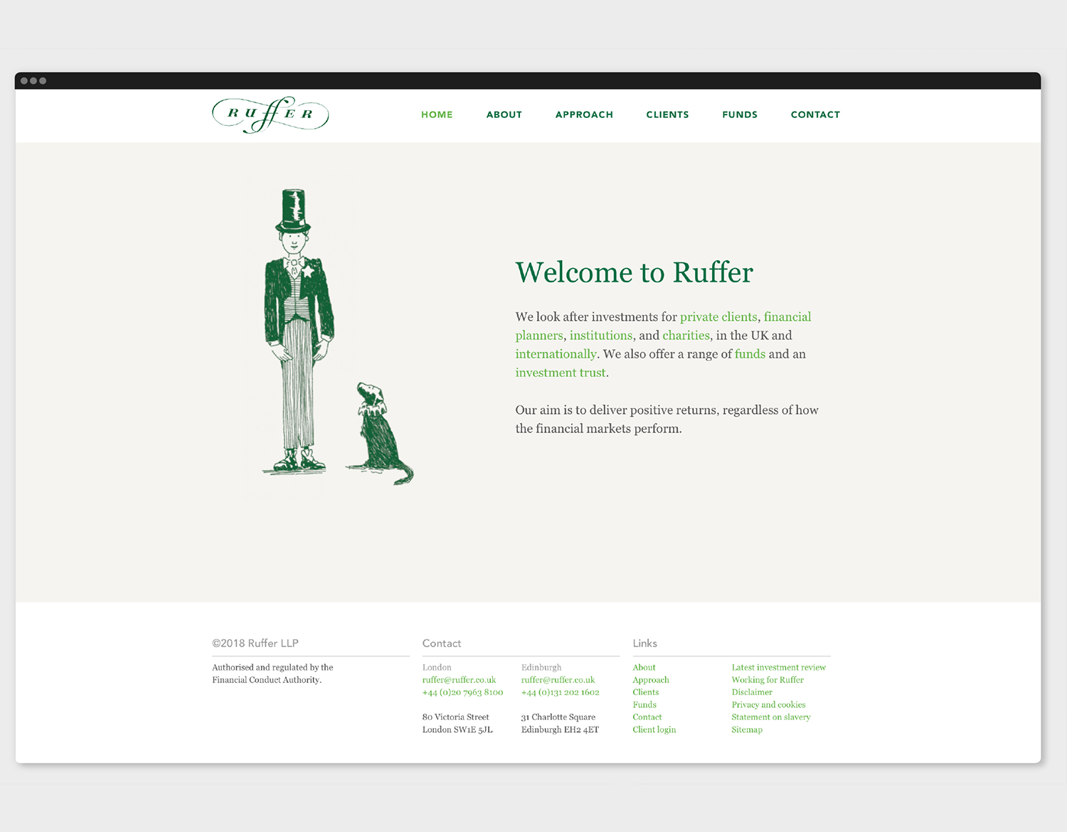 Ruffer LLP - Take a bow